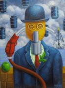 tableau personnages : dommage à Magritte