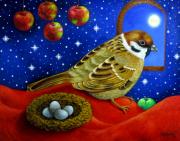 tableau animaux : pommes de rêve