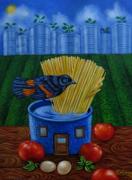 tableau animaux : le temps des tomates