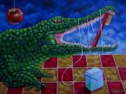 tableau animaux : crocodile