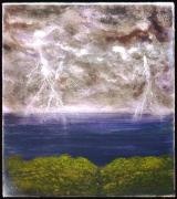 tableau paysages tesla : light of tesla