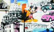 tableau mickey rome collage bristol : Mickey's Métropolitane Roma