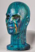 tableau personnages enki egypte abstrait jlo : ENKI