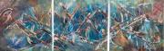 tableau abstrait œil dhorus ankh egypte jlo : L'OEIL D'HORUS