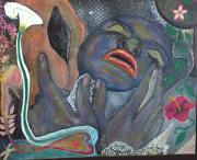 tableau nus feminite nu femme seduction : DAMKINA