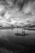 photo paysages noir et blanc paysage photographie photographie art personnage : The Viewer 14