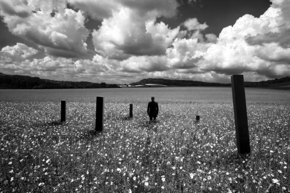 PHOTO noir et blanc paysage photographie photographie art personnage Paysages  - Mental construction