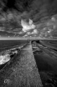 photo paysages noir et blanc paysage photographie photographie art personnage : The Viewer 1