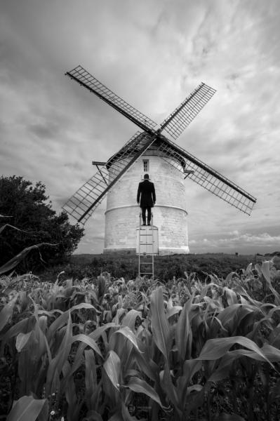 PHOTO noir et blanc paysage photographie photographie art photographie  - ESCAPE 40