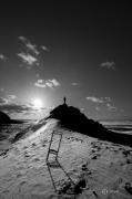 photo paysages noir et blanc paysage photographie photographie art personnage : The viewer 5