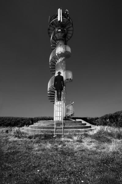 PHOTO noir et blanc paysage photographie photographie art  - ESCAPE 39