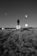 photo personnages noir et blanc paysage photographie photographie art personnage : I can fly 4