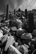 photo architecture noir et blanc paysage photographie photographie art personnage : mental construction 12