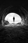 photo paysages noir et blanc paysage photographie photographie art personnage : ESCAPE 6