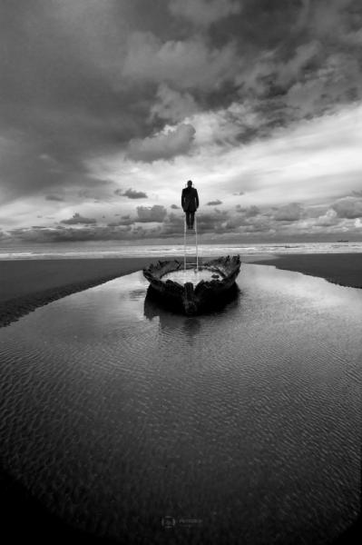 PHOTO creation photographie noir et blanc histoire photographique photographie conceptuelle  - ESCAPE 19