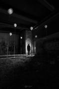 photo abstrait noir et blanc paysage photographie photographie art personnage : I can fly 2