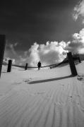 photo personnages noir et blanc paysage photographie photographie art personnage : Mental construction 16