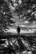 photo paysages noir et blanc paysage photographie photographie art personnage : i can fly 19