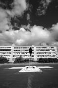 photo architecture noir et blanc paysage photographie photographie art personnage : Escape 45