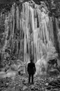 photo paysages noir et blanc paysage photographie photographie art glace : Follow the line 16