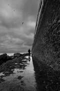 photo paysages noir et blanc paysage photographie photographie art personnage : Sa préférence