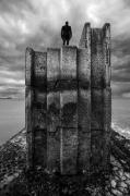 photo architecture noir et blanc paysage photographie photographie art personnage : follow the line 13