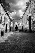 photo architecture noir et blanc paysage photographie photographie art personnage : mental construction 7