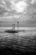 photo paysages noir et blanc paysage photographie photographie art personnage : The viewer 8
