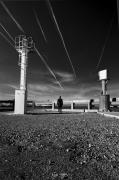 photo paysages noir et blanc paysage photographie photographie art personnage : follow the line 8