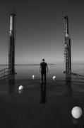 photo paysages noir et blanc paysage photographie photographie art personnage : I can fly 9