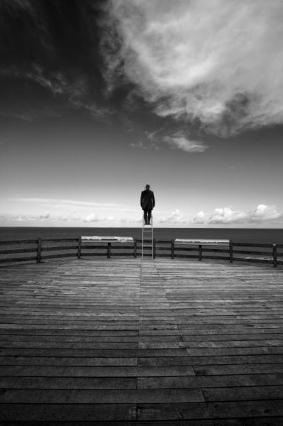 PHOTO noir et blanc paysage photographie photographie art  - ESCAPE 32