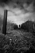photo abstrait noir et blanc paysage photographie photographie art personnage : mental construction 11