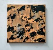 tableau autres collage abstrait contemporain minimalisme : Logarithmes