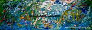 tableau abstrait nature original couleurs abstrait : Pas de nom