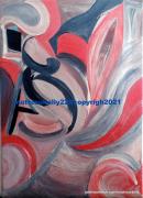 tableau abstrait abstrait moderne couleurs formes : Pas de nom