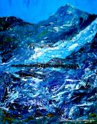 tableau paysages paysage couleurs moderne original : Picturesque landscape.2
