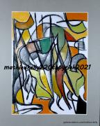autres abstrait abstrait moderne couleurs geometriques : Pas de nom