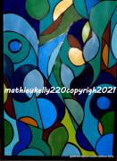 autres abstrait abstrait couleurs geometriques moderne : Pas de nom