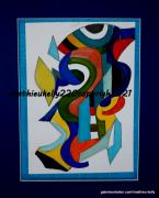 autres abstrait abstrait geometriques couleurs elan : Pinocchio