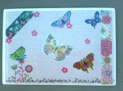 """deco design animaux papillon magnet decoration creation : plaque """"papillons"""" PM 12"""