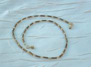 bijoux bijou collier perles de verre creation bijou fantaisie : Collier en perles de verre CV 19