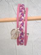 bijoux bracelet tresse bijoux sandrine chasseigne : Bracelet tressé BS 13