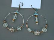 bijoux bijoux boucles doreilles creoles sandrine chasseigne : Boucles d'oreilles créoles BO 18