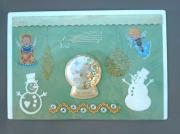 "deco design noel decoration magnet sandrine chasseigne : Plaque 'Noel"" PM 5"