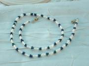 bijoux collier bijou fantaisie creation bijoux : Collier chic en verre CV 14