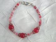 bijoux bracelet verre perles bijoux : Bracelet en perles de verre BV 24