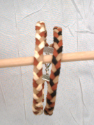 bijoux bracelet bijoux tresse sandrine chasseigne : Bracelet tressé BS 10