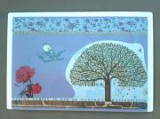 """deco design autres arbre magnet decoration chasseigne : Plaque """"nature"""" PM 11"""