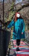 art textile mode autres plis : Manteau