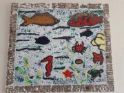 tableau paysages : La vie sous -marine